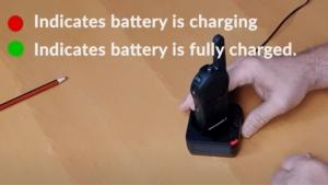 charging motorola dlr 1060