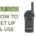 Motorola DLR 1060 guide